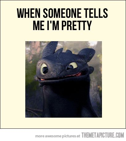 When I receive a compliment…