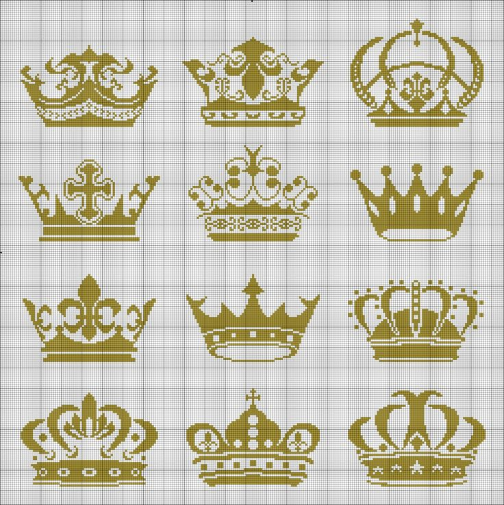 Crowns - via Yohoshhh