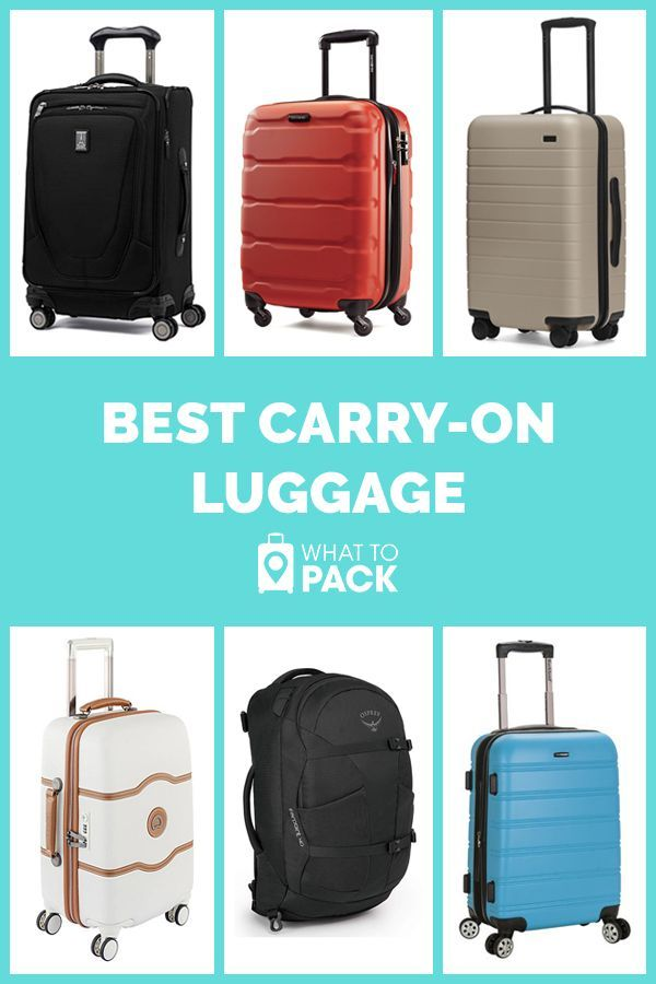 Carry-On Luggage That's Worth the Hype | Best carry on luggage, Luggage, Carry  on luggage