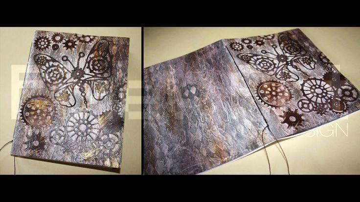 # Take a Note # Steam Butterfly - quadernino per appunti fatto a mano