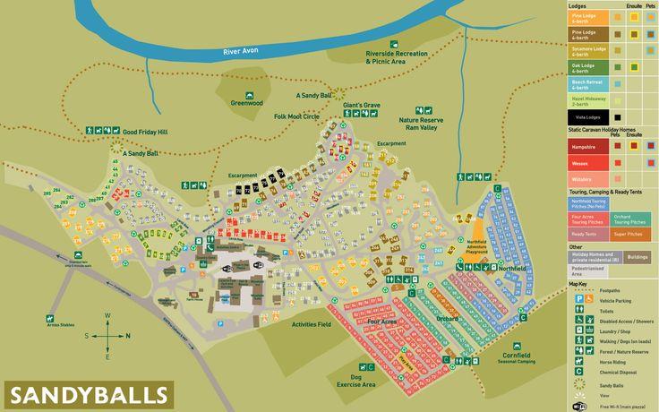 Sandy Balls site plan ...