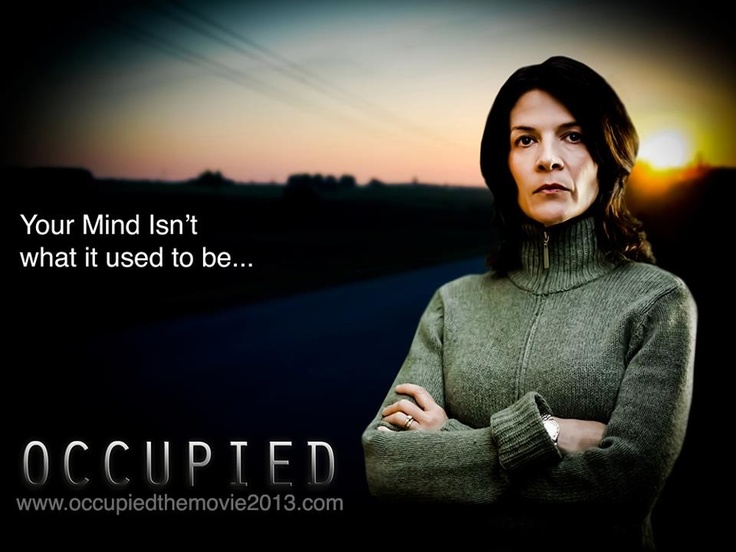 New promo image of actor Katrina Gow in character as The Female Patient in Occupied... Find out more at : http://igg.me/at/occupiedmovie