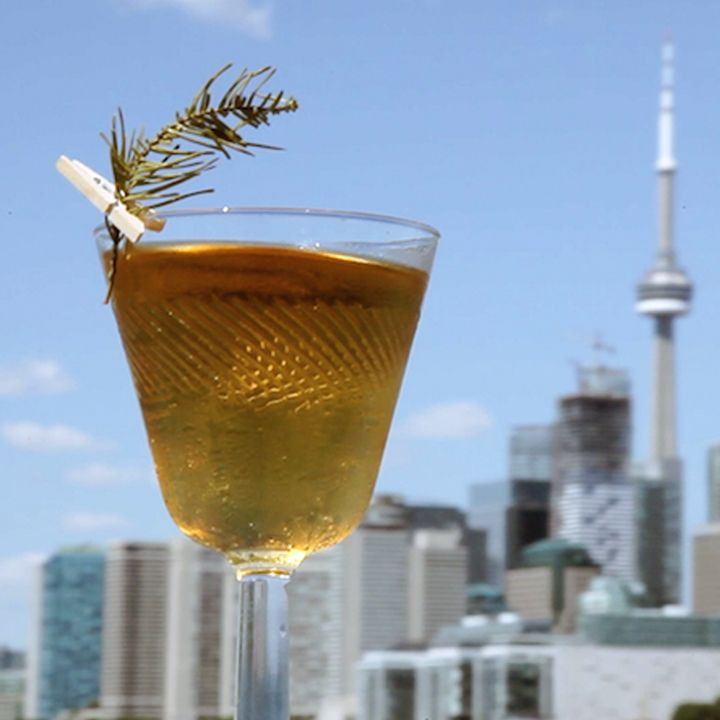 The Altitude Cocktail Salutes a Canadian Landmark