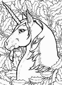 Coloring Pages Space Aliens Themed Unicorns
