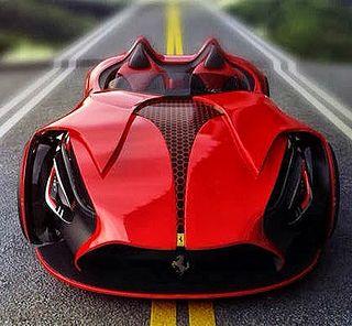 Electric Ferrari | Flickr - Photo Sharing! - Okay, ich bin kein großer Auto oder Ferrari Fan, aber das futuristische Design hat was.