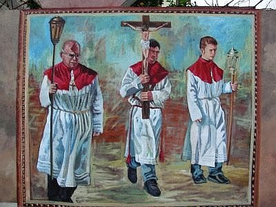 murales a Flussio