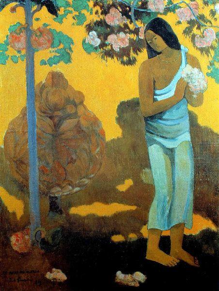 Paul Gauguin - Post Impressionism - Tahiti - Le mois de Marie - 1899
