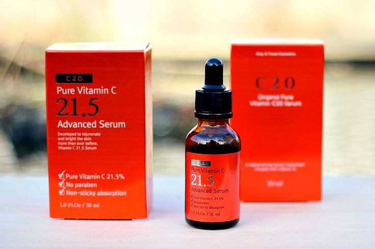 O.S.T. Vitamin C Serum 21.5% | Nagyon Jó Koreai C Vitaminos Szérum! : *Oh My Brush* | Beauty Makeup Blog