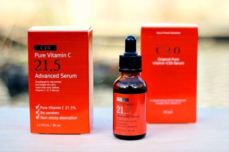 O.S.T. Vitamin C Serum 21.5% | Nagyon Jó Koreai C Vitaminos Szérum! : *Oh My Brush* | Beauty Makeup Blog