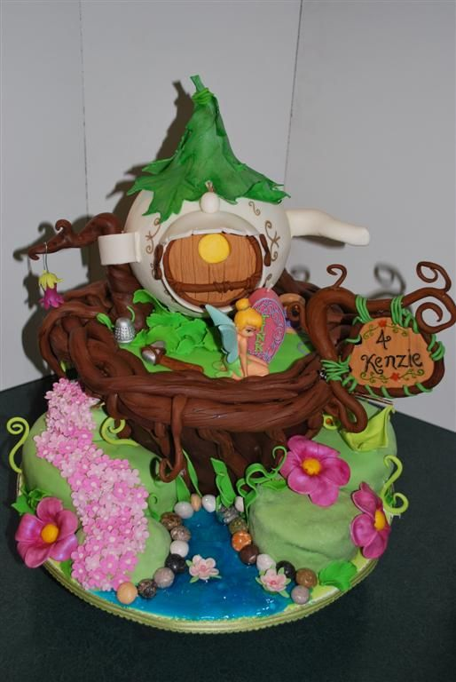310 best images about Fairy garden cakes and cupcakes