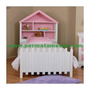 Dipan Anak Minimalis Bentuk rumah