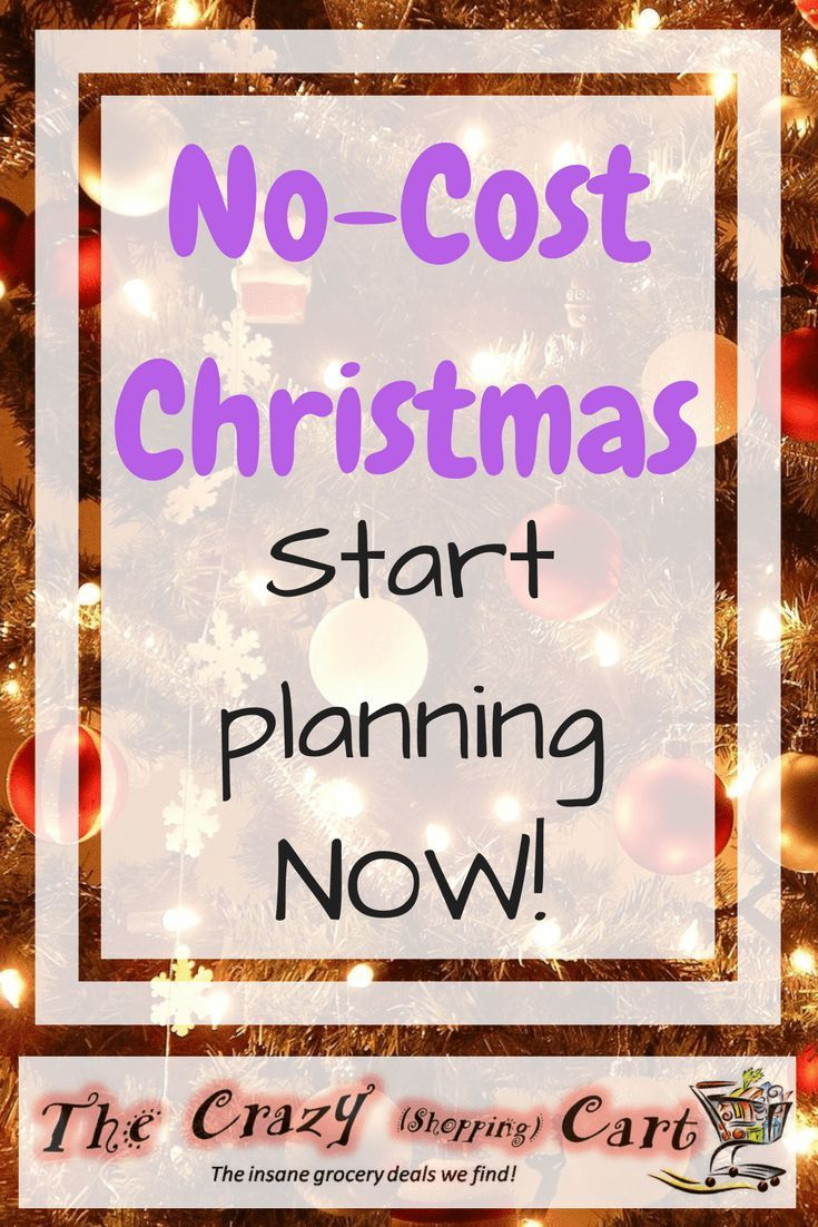 Start preparing now so that you don't have to pay anything out of pocket for Christmas!    Debt-Free Christmas