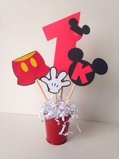 70 Inspirações de festas infantis do Mickey Mouse - Dicas da Japa