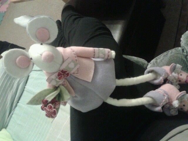 Felt mouse..
