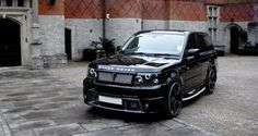 custom lifted land rover 2011 | ... and its first product is this latest kit for the Range Rover Sport SUV
