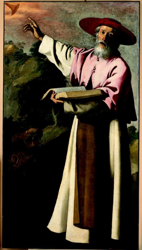 . St. Jerome, by Francisco de Zurbarán, ca. 1640.