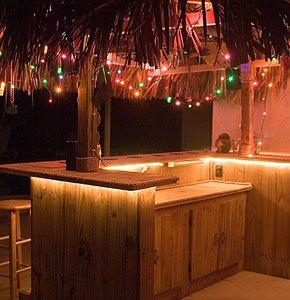 Build Your Own Tiki Bar AKA Nittibar