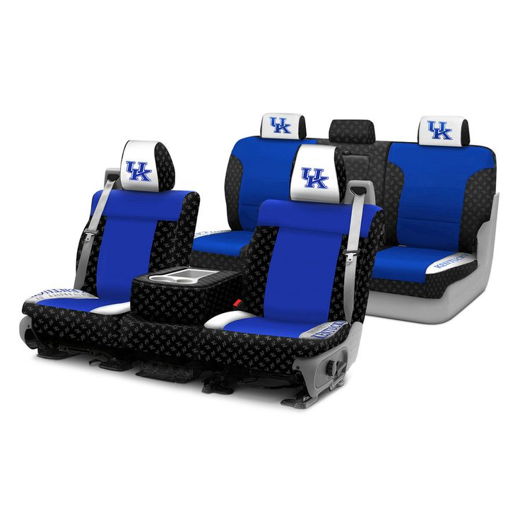 Image may not reflect your exact vehicle! Coverking® - Licensed Collegiate Custom Seat Covers