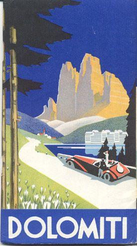 Dolomiti - SAD - Società Automobilistica Dolomiti, 1938 View 2