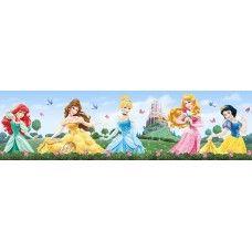 Walt Disney bordűr, Hercegnők fal bordűr
