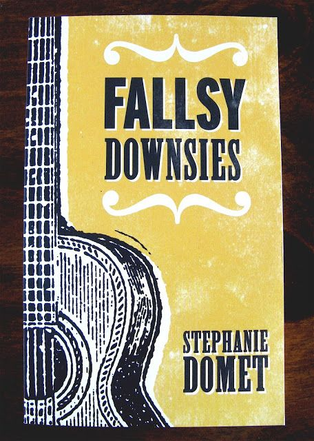 The Kitchen Sink Project: Fallsy Downsies, the newest novel by Halifax writer, Stephanie Domet