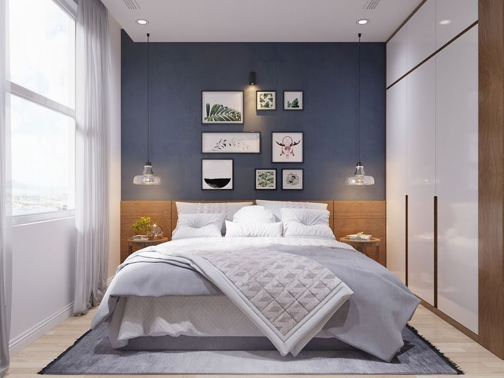 Modern Scandinavian Style Home Design For Young Families 2 Examples Modern Bedroom Design Interior Design Bedroom Scandinavian Bedroom Color