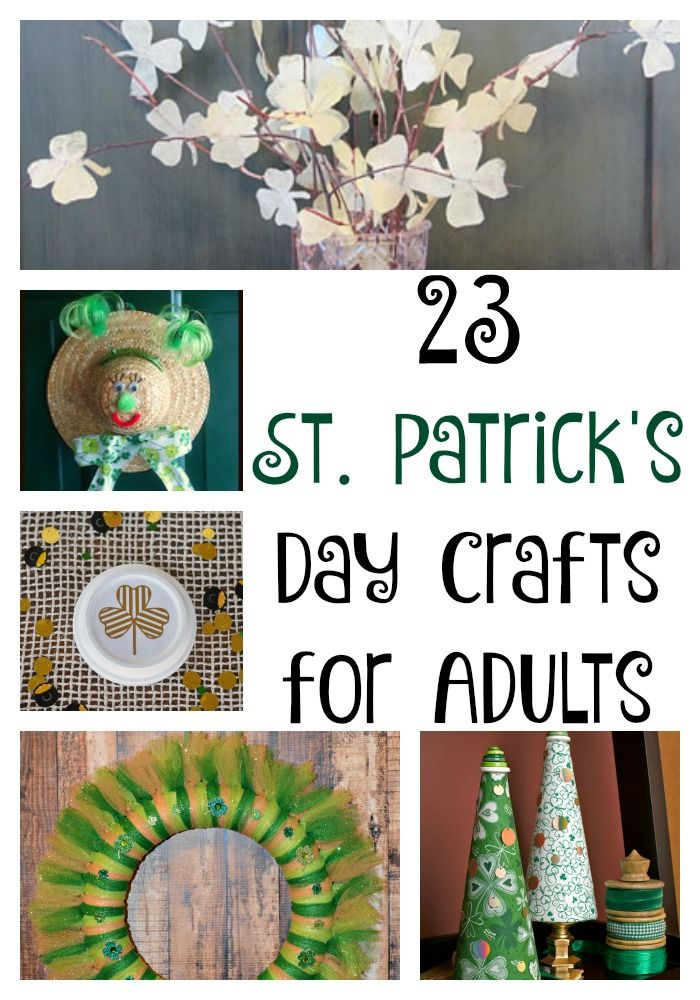 1000 images about st patrick 39 s day crafts decor on On st patrick s day crafts for adults