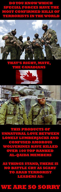 Kanada, b * tch!