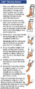jobst stocking donner instructions