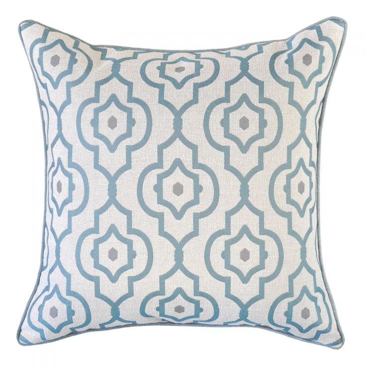 Mendoza Turquoise Cushion - 45x45cm