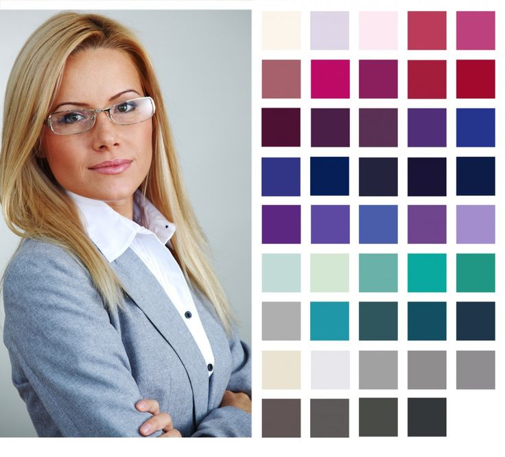 SHOP SUMMER: Summer colours are cool, light and muted.  Wearing Colour to Work: Summer Colour Palettes