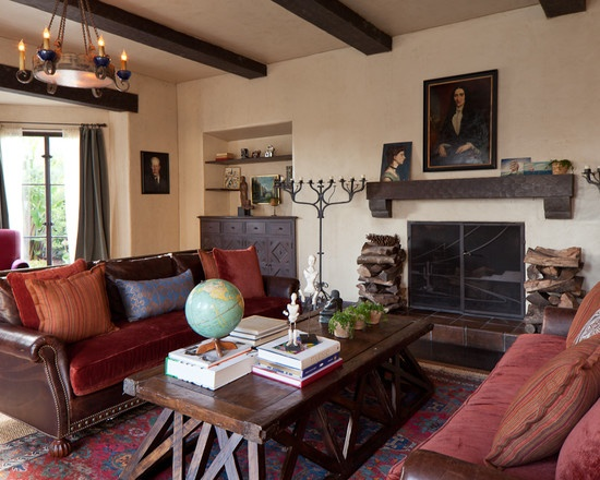 Living Room Layered Vintage Oriental Rugs Design, Pictures, Remodel, Decor and Ideas - page 3