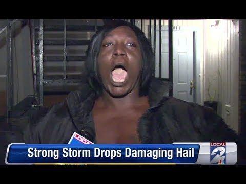 Best Weather Description Of Hail... EVER...!!