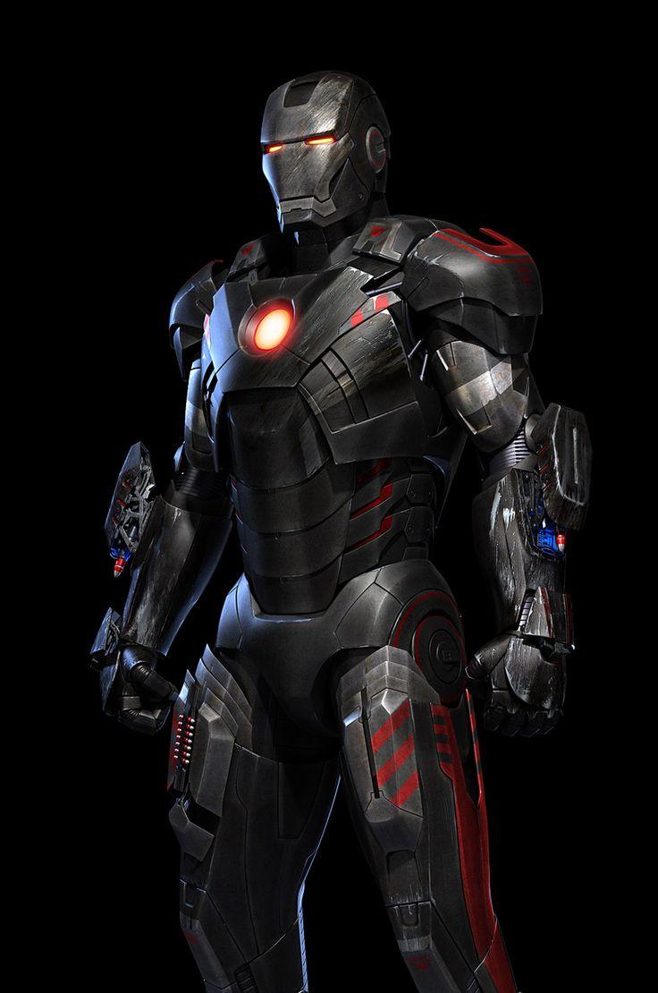 The Dark Iron Man – 3D Fan Art by Liuhaifan