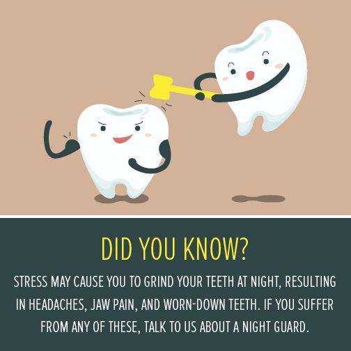 April is Stress Awareness Month! Stress can impact your dental health. What are your favorite ways to de-stress?