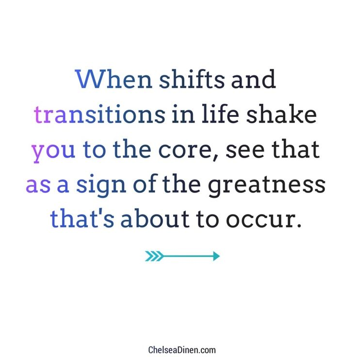 The greatness that's about to occur | Honoring life transitions via ChelseaDinen.com
