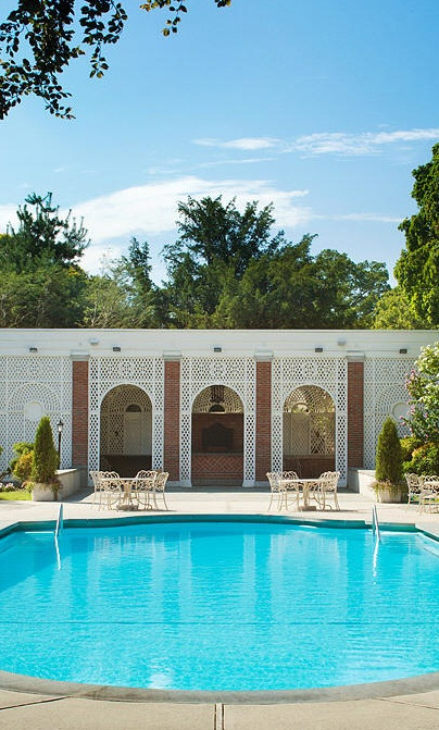 Pool house exterior pinterest more pool houses and for Creative pool design jobs