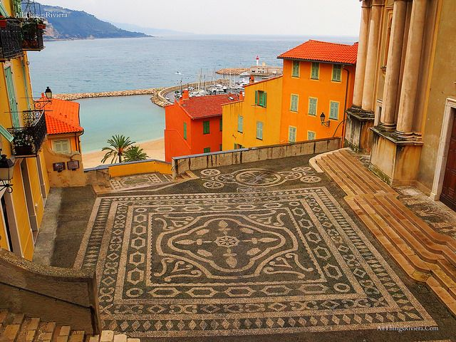 #Menton in the #FrenchRiviera (where some scenes of Grace of Monaco w/ Nicole Kidman were shot.)  http://allthingsriviera.com/