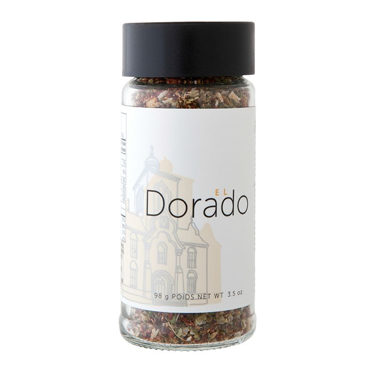 El Dorado Secret Sauce: Enjoy instant zest bursting with tangy tomato, smoky ancho, and sweet bell peppers. (Kosher)