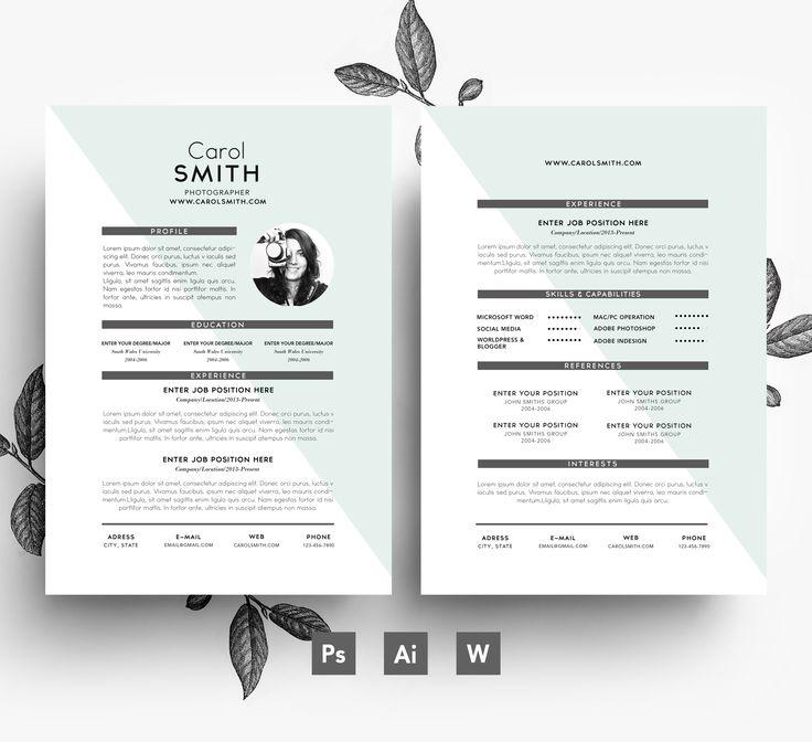 Custom CV Template + Cover Letter
