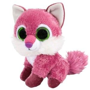 Raspberry the Lil Sweet and Sassy Stuffed Pink Fox by Wild R ...