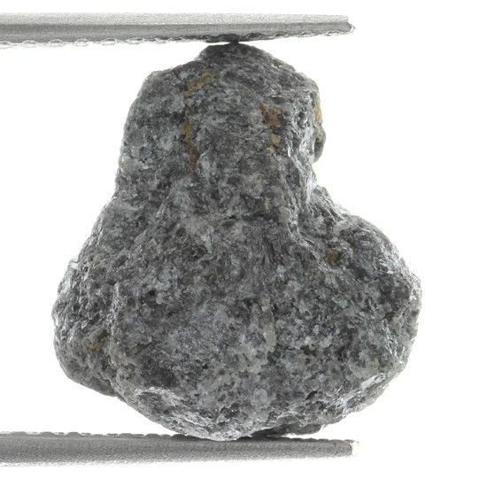 Natural Loose Uncut Rough Raw African Diamond Silver Gray Color 6.5 ct.