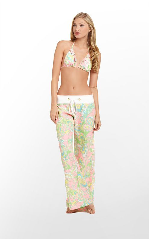 Beach Pant in Multi Chin Chin $128 (w/o 2/16/13) #lillypulitzer #fashion #style