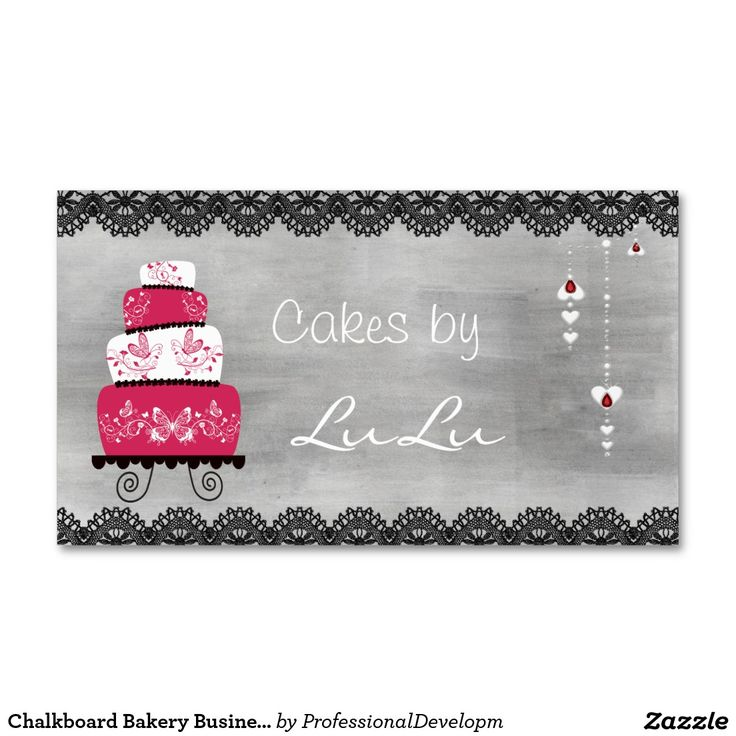 23 best cake business card images on Pinterest | Advertising, Car ...