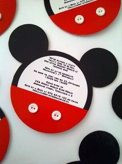 Leuke Disney-uitnodigingen om zelf te maken.