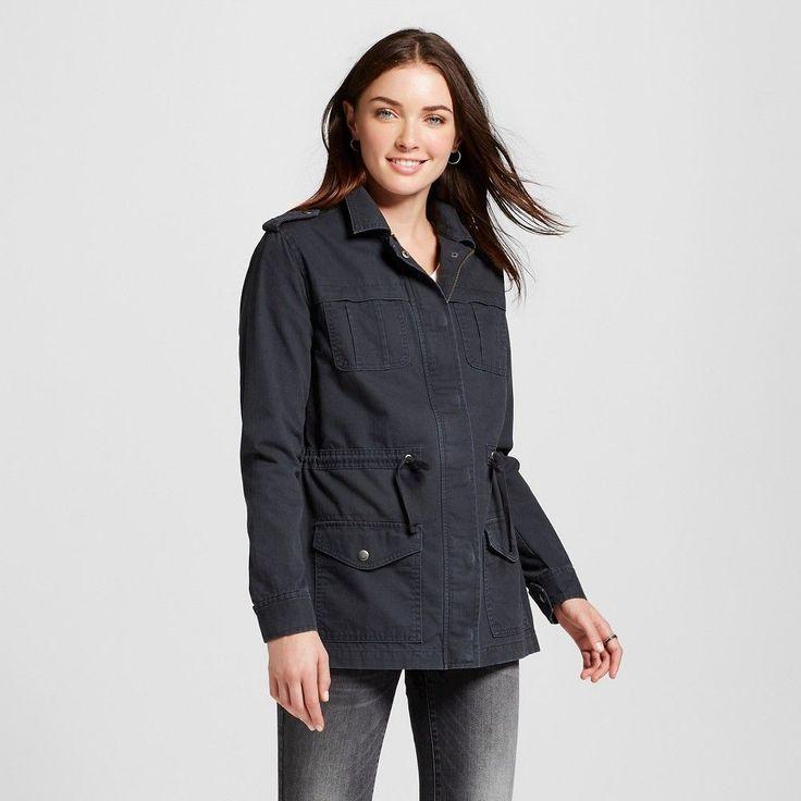 Women's Utility Jacket Mocha (Brown) Xxl - Merona