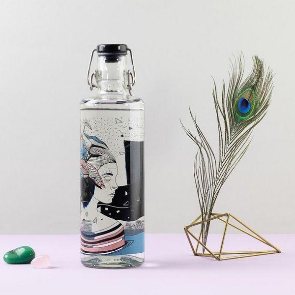 Spirit Of Nature Soulbottle Glasflasche 1 Liter Sb Sb10 14 In 2020 Glasflaschen Flaschen Trinkflasche Aus Glas