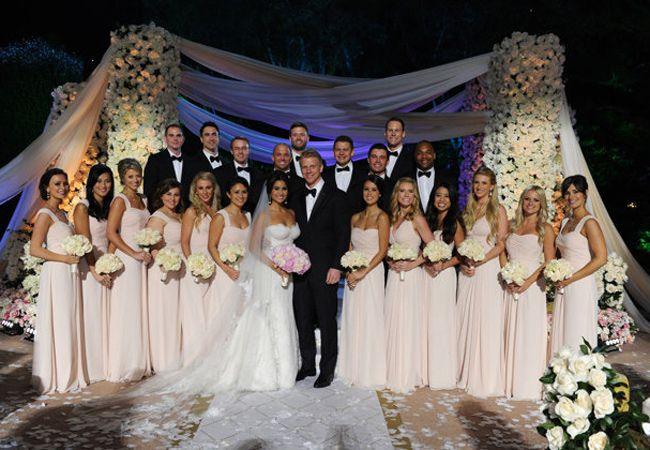 Catherine Lowe Wedding Dress Bachelor Wedding Sean And Catherine Wedding Wedding Party Photos