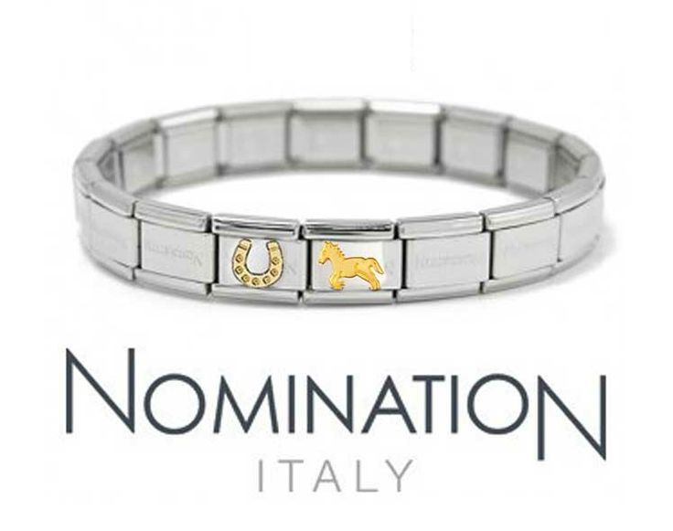 Horse lovers will adore this Italian Nomination bracelet. Like our Facebook page to keep updated on the latest designs: https://www.facebook.com/InutiDesignerJewelleryLtd