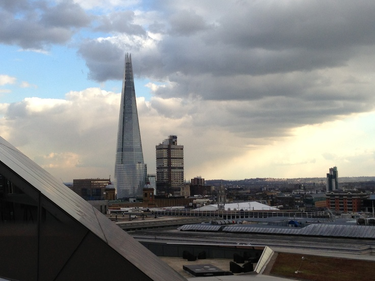 The perfect view from Madison Restaurant in St Paul's